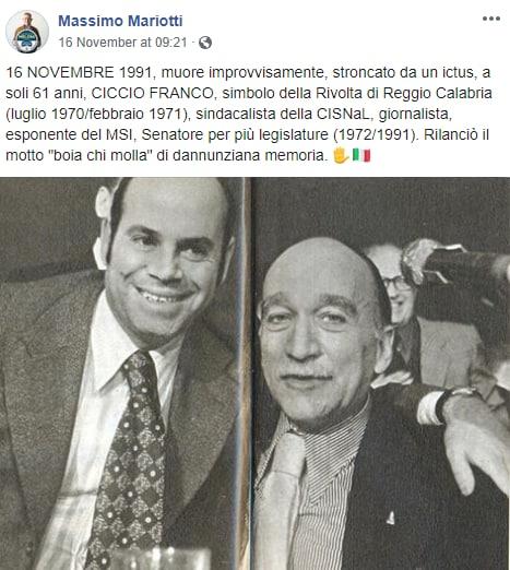 massimo mariotti fratelli d'italia neofascismo -3