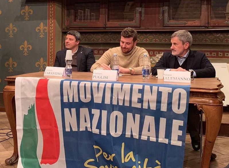 meloni alemanno fratelli d'italia movimento nazionale sovranità - 2