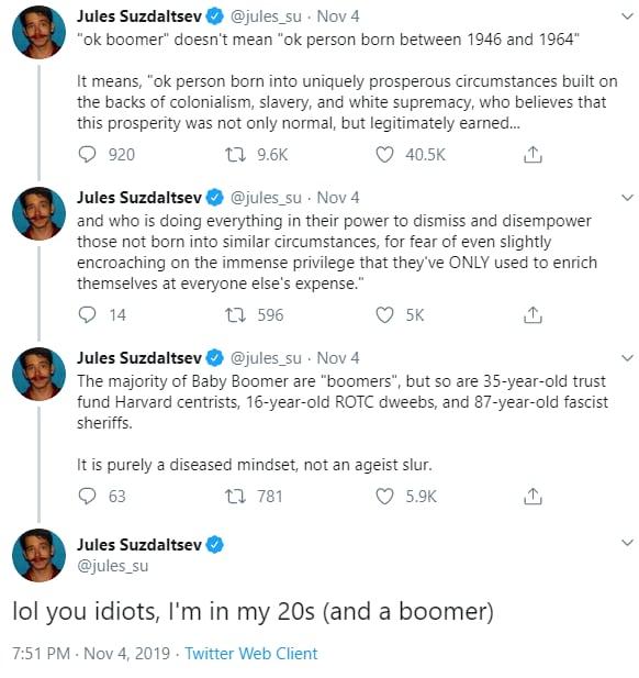 millennials ok boomer generation z - 4