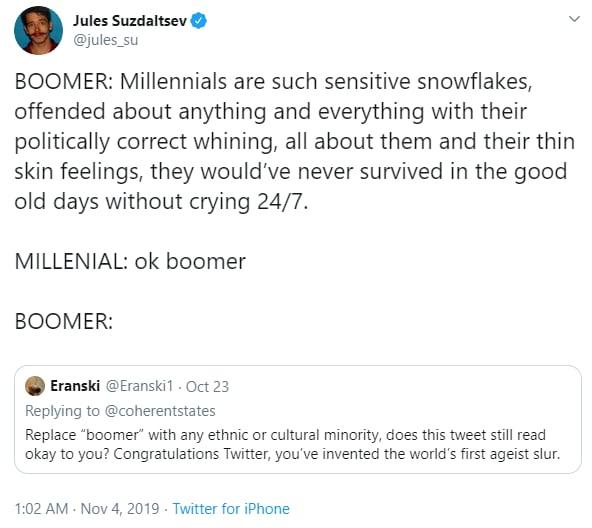 millennials ok boomer generation z - 7