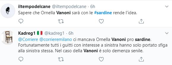 ornella vanoni sardine milano 3