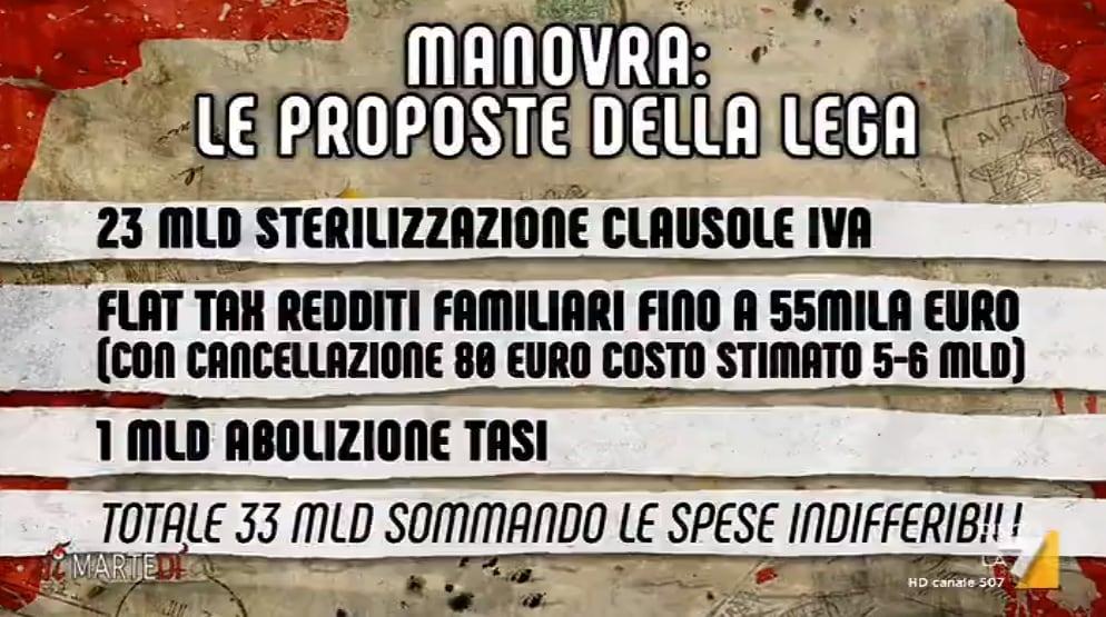 salvini spread pace fiscale di martedì - 3