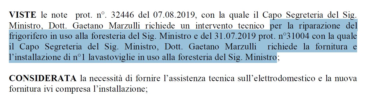 toninelli affitto ministero foresteria - 4