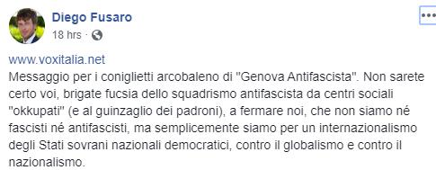 vox italia genova fascisti cap portuali - 2