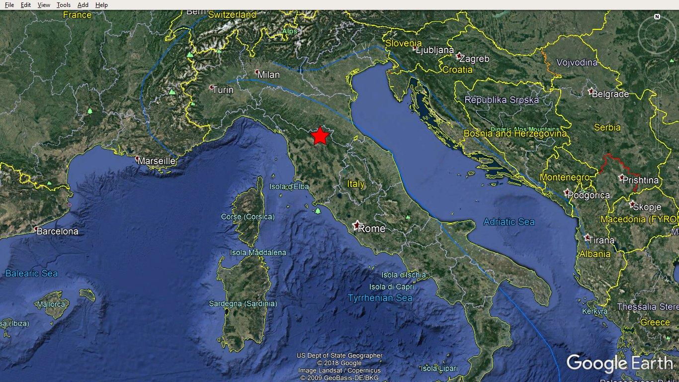 Terremoto a Firenze 9 dicembre 2019 4