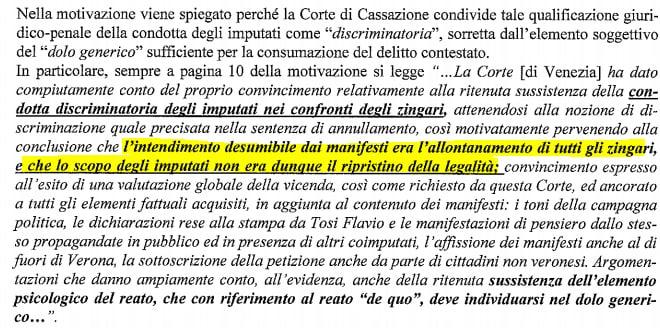 coletto bori condanna razzismo tesei - 4