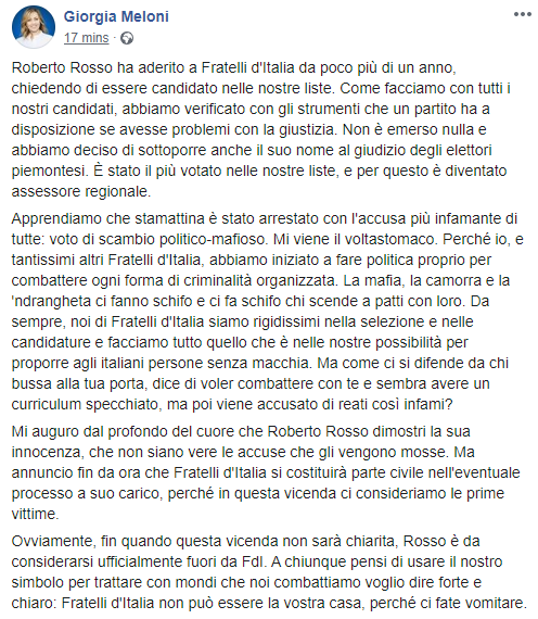 fratelli d'italia ndrangheta - 1
