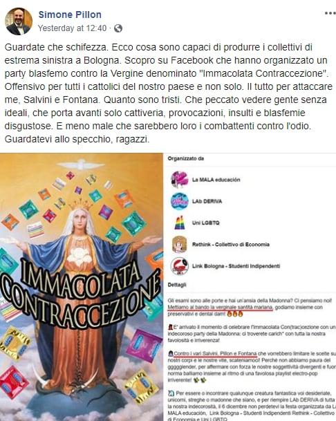 immacolata contraccezione party bologna -2