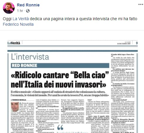 red ronnie sovranista - 1