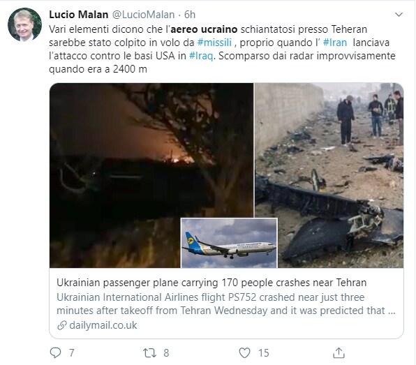 aereo ucraino iran caduto - 4