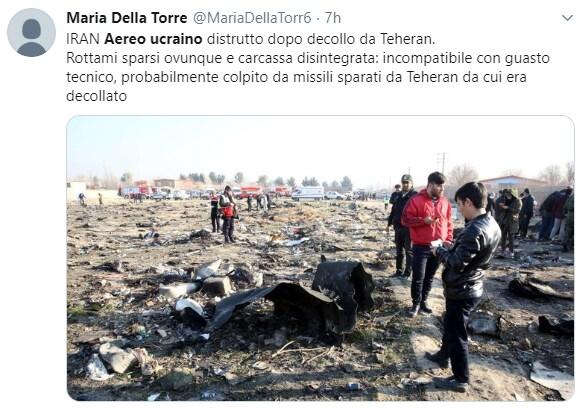 aereo ucraino iran caduto - 5