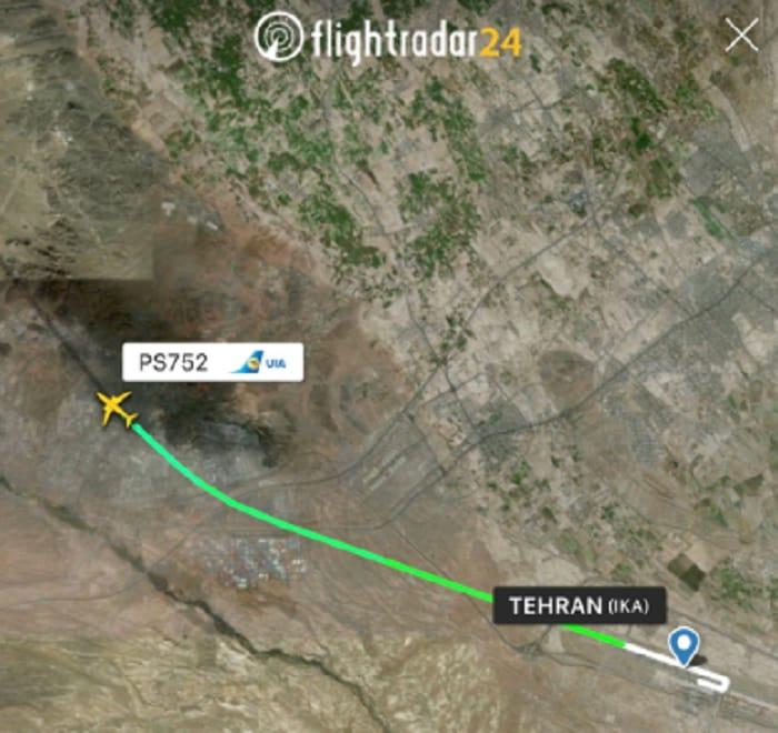 boeing 737 caduto teheran