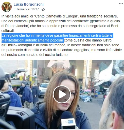 borgonzoni assessorato turismo rievocazioni storiche - 4