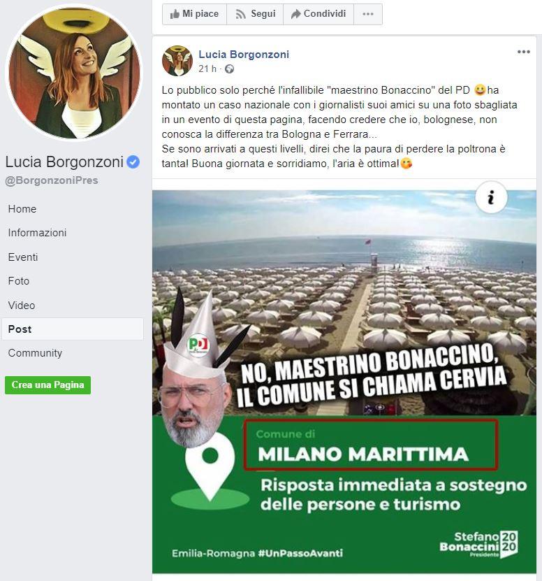 borgonzoni bonaccini cervia milano marittima