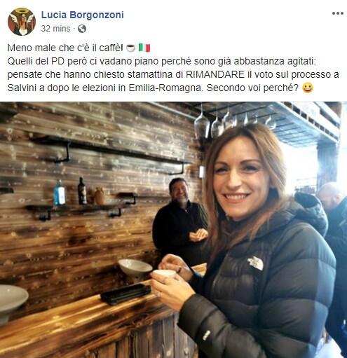 borgonzoni gregoretti salvini - 1