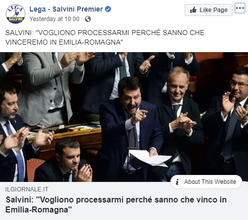 borgonzoni gregoretti salvini - 3