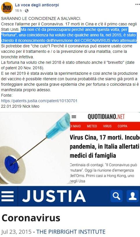 coronavirus cina complotto vaccino - 7