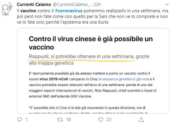 coronavirus cina complotto vaccino - 8