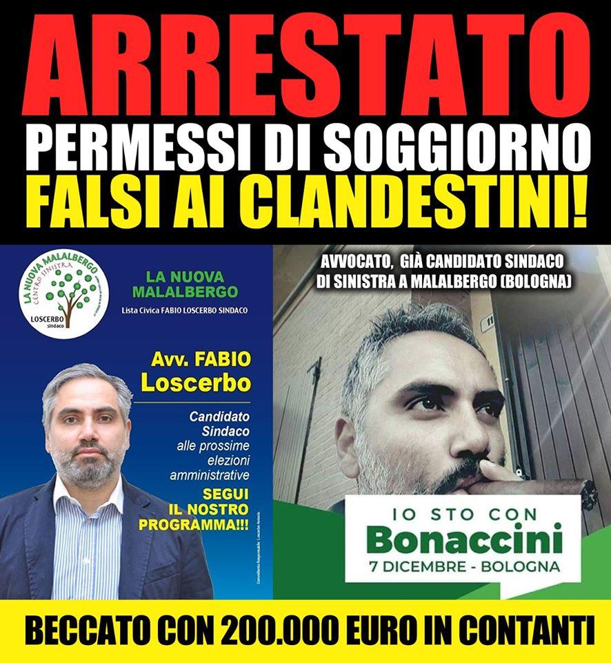 Fabio Loscerbo: l'avvocato arrestato per i permessi di soggi