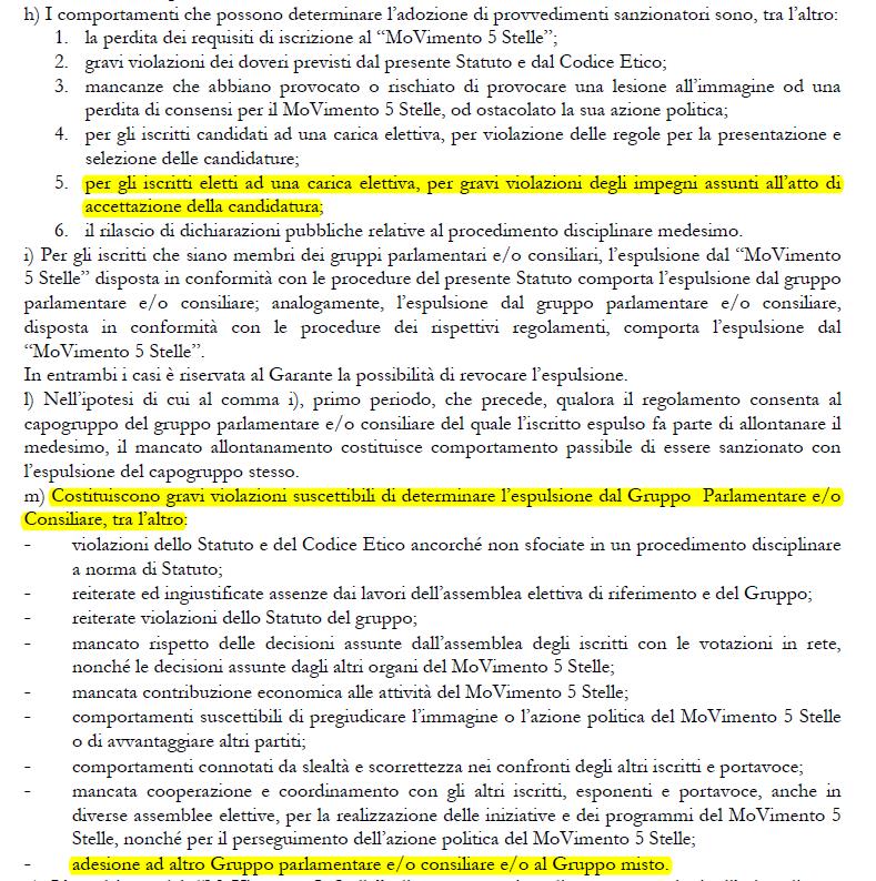 fioramonti m5s espulsione dimissioni statuto - 2