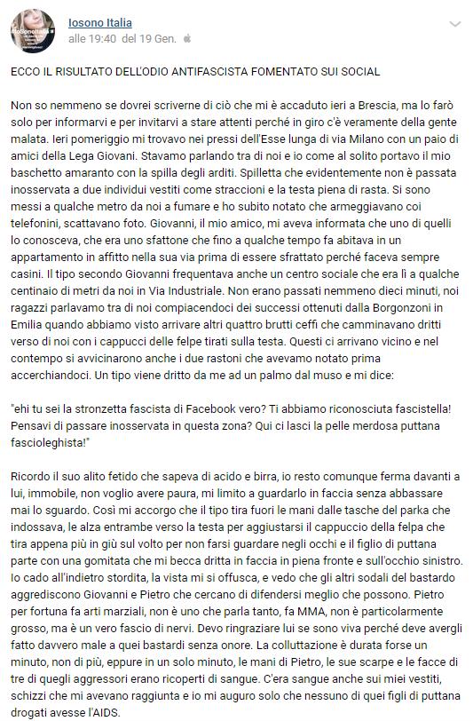 italia ardita io sono italia aggressione - 11