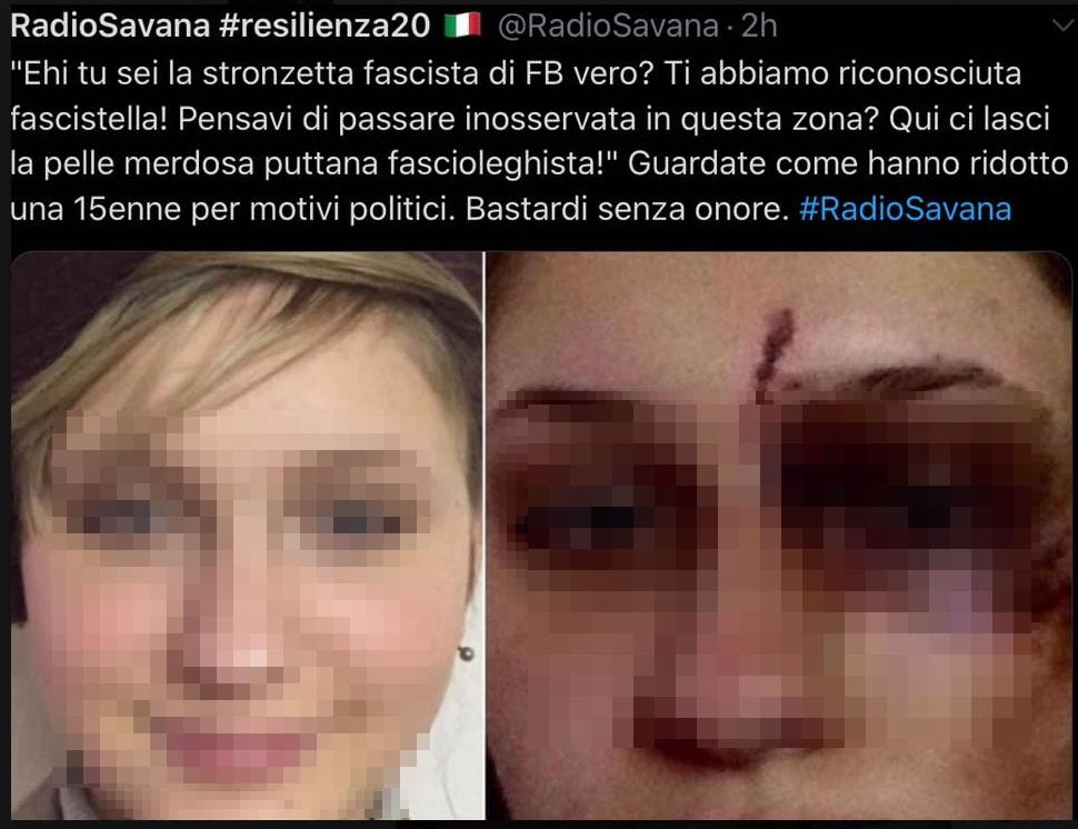 italia ardita io sono italia aggressione - 3