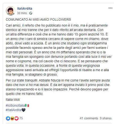 italia ardita io sono italia aggressione - 6