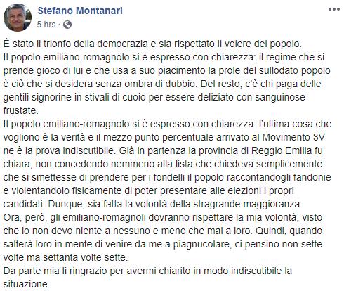 stefano montanari movimento 3v emilia romagna - 1