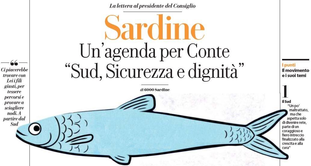6000 sardine giuseppe conte