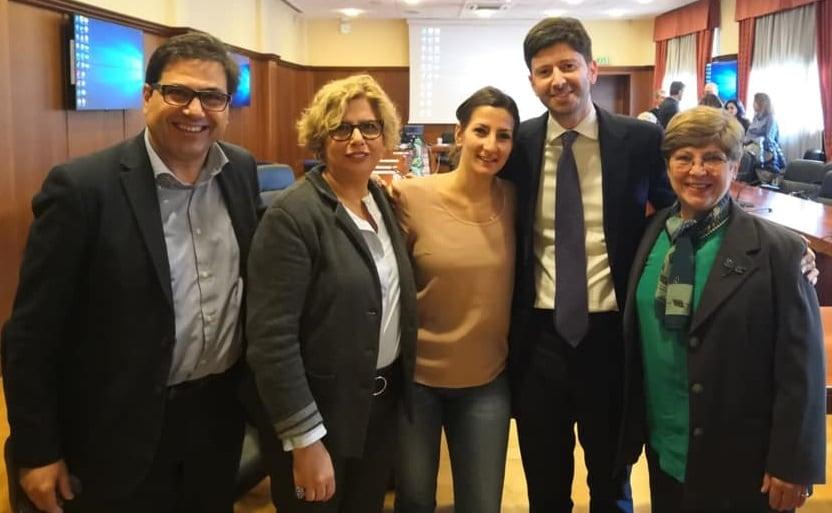 MARIA ROSARIA CAPOBIANCHI FRANCESCA COLAVITA CONCETTA CASTILLETTI