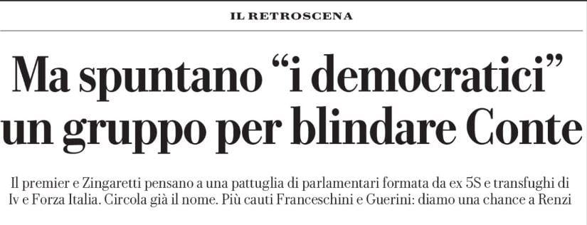 democratici gruppo italia viva