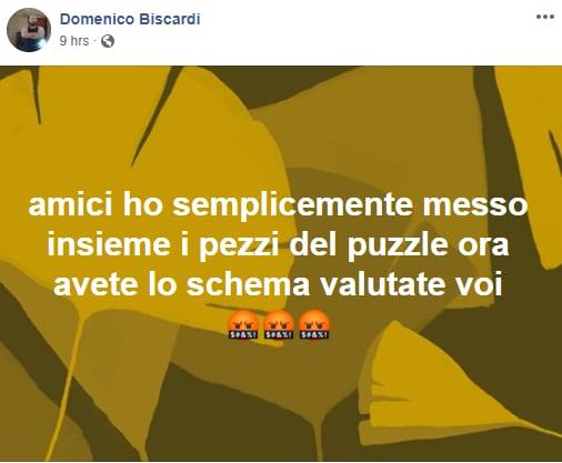 """L'audio WhatsApp del """"Dottor Domenico Biscardi"""" che spiega il complotto della Francia e"""