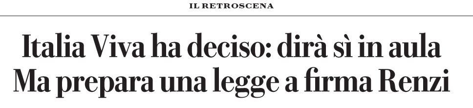 italia viva prescrizione