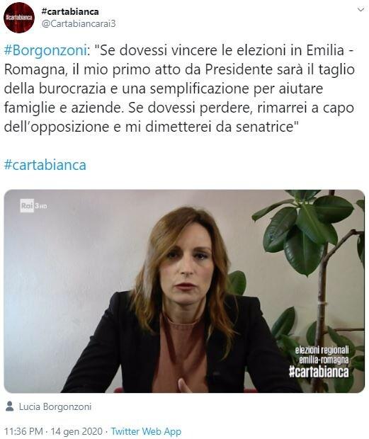 lucia borgonzoni regione emilia-romagna roma