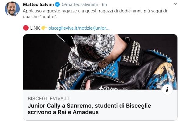 matteo salvini junior cally - 1