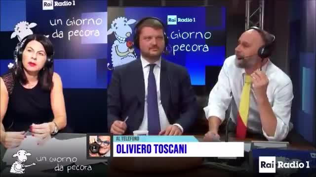 oliviero toscani ma a chi interessa se casca un ponte