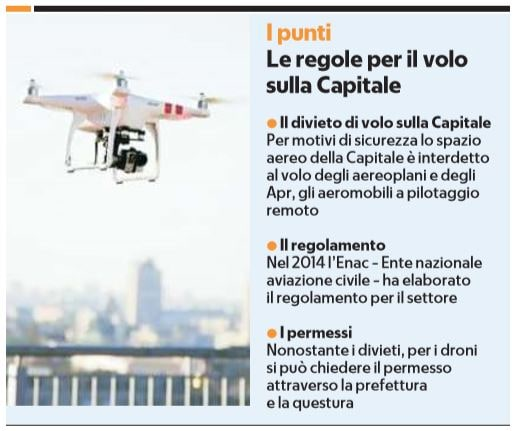 Il drone che spia Luigi Di Maio