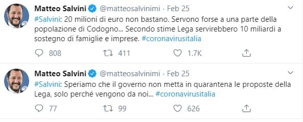 La fregnaccia del piano da 10 miliardi di Salvini per il dop