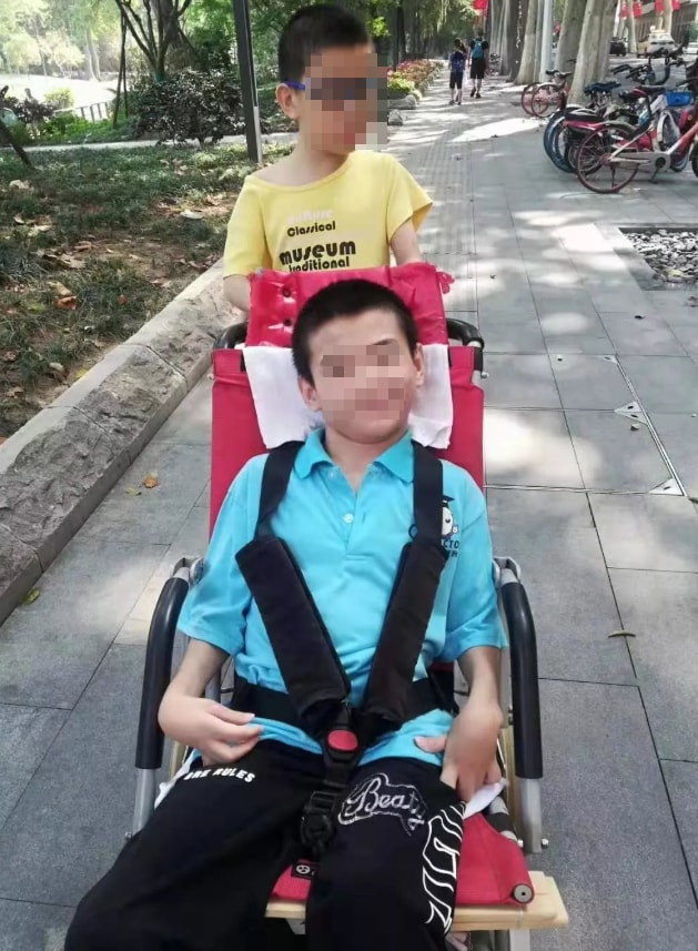 yang chen ragazzo disabile coronavirus - 2