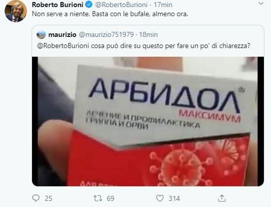 abidol roberto burioni