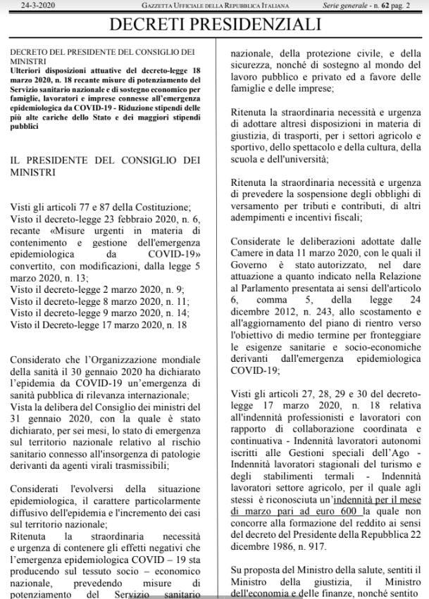 bufala 600 euro alte cariche dello stato 1