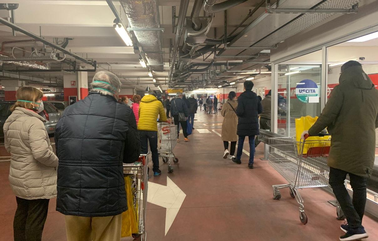 chiusura supermercati coronavirus code filandiana - 4