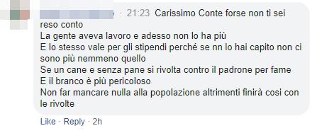 conte commenti coronavirus italiani - 1
