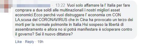 conte commenti coronavirus italiani - 13