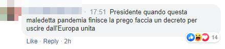 conte commenti coronavirus italiani - 4