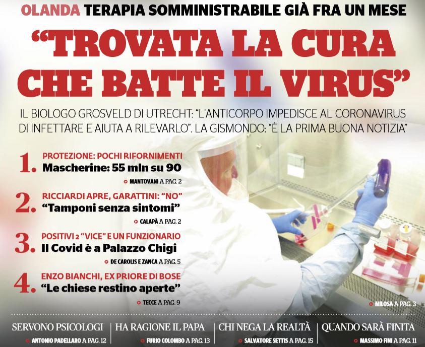 coronavirus cura olanda