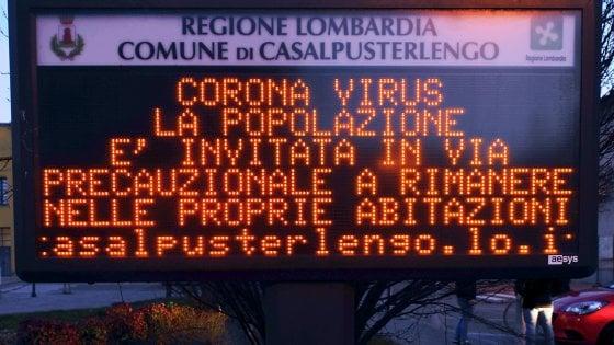coronavirus focolaio italia