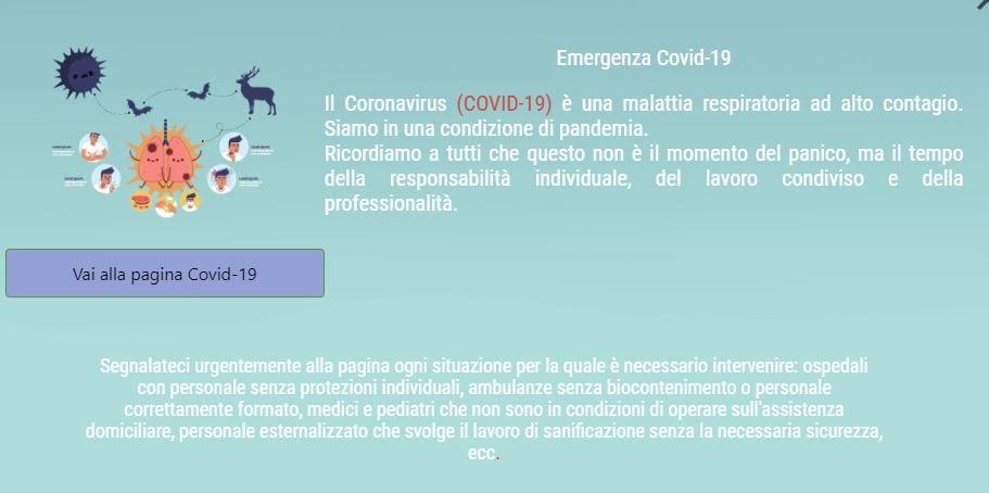 davide barillari sito saluteregionelazio.it covid-19