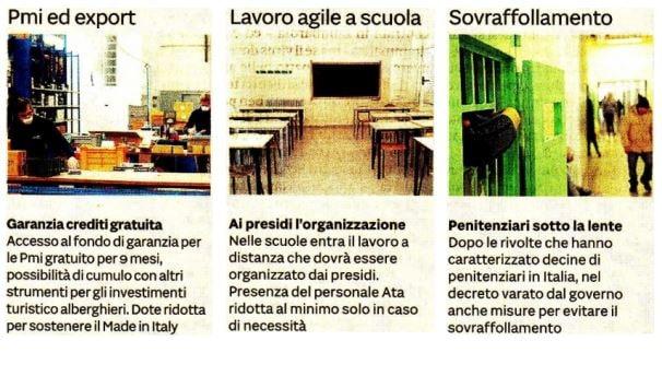 decreto cura italia coronavirus come avere le agevolazioni