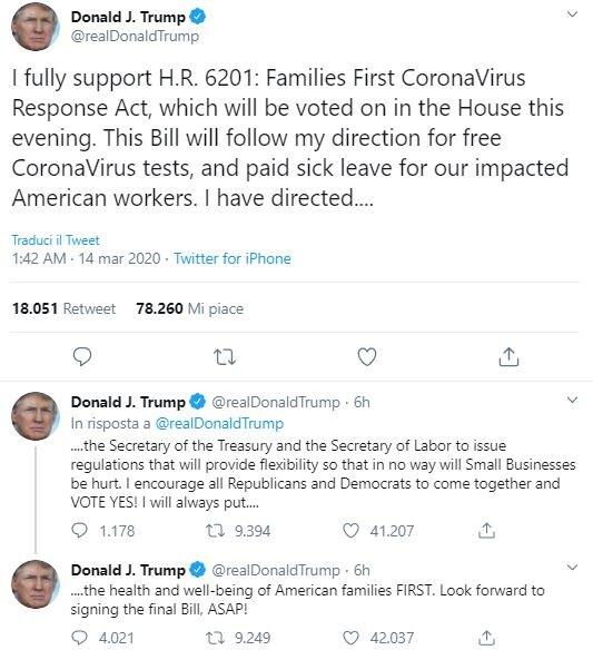 Coronavirus, Trump negativo al test: stretta sui controlli alla Casa Bianca